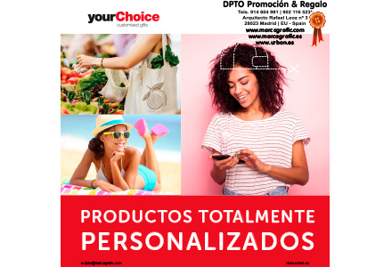 Catálogo Virtual YourChoice Customized Gifts